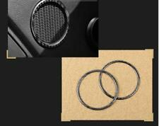 Carbon Fiber Inside Door Speaker Ring Frame Cover Trim For Ford Mustang A11