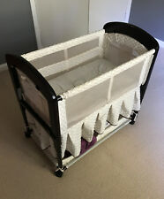Arms Reach Co Sleeper Cambria Deluxe Bassinet - Portable Baby Bed & Mattress