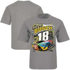 Kyle Busch #18 Nascar 2020 Gray Surge One Sided Youth Tee Size X-Small