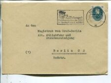 Germany DDR 16pf on local cover Berlin 20.12.1950