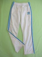 98d496c7826ba Pantalon Adidas Originals Blanc et ciel Femme Style vintage Survetement - 38
