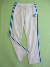Pantalon Adidas Originals Blanc et ciel Femme Style vintage Survetement - 38