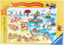 Ravensburger Puzzle 35 Teile Richard Scarry Strandleben/Busytown Beach