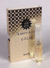 AMOUAGE Gold - Eau De Parfum Man - 2ml/0.06 oz Vial NEW on Card