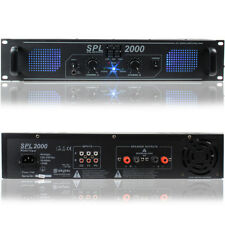 Skytec 178.799 DJ Power Amplifier 2000 Watt