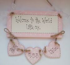 Personalised Welcome Decorative Indoor Signs/Plaques