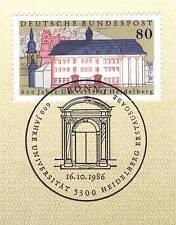 BRD 1986: Universität Heidelberg Nr. 1299 mit dem Bonner Sonderstempel! 1A! 156