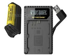 Nitecore UCN1 Travel Charger for Canon LP-E6 LP-E6N & LP-E8 with F1 PowerBank