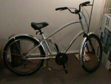 Electra Townie 21D Speed Silver Comfort City Joy Riding Bicycle MEN