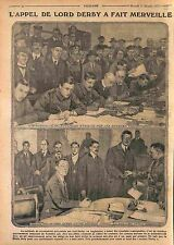 London recruitment Lord Derby Edward George Villiers Stanley England UK WWI 1915
