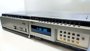 HITACHI Portable Video Deck VT-6500E & Video Tuner VT-TU65E (1982/83) For Parts