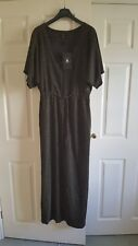 Bright and Beautiful Yoko Lurex Kaftan Dress Size M 12 BNWT