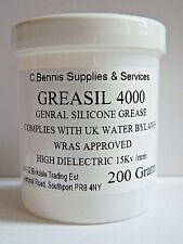GS 200g Silicone Grease Universal Lubrication Rubber Latex Dielectric WRAS