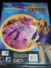 Disney Bettwäsche ,Bettwäschegarnitur  Hannah Montana 135 x 200 cm----NEU