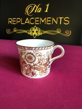 "Royal Crown Derby Brocade Tea / Coffee Cup / Mug  2.75"" XXXIV 1971"