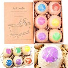 Organic 100% Natural Bath Bombs Spa Set Soap Handmade Anti Stress Aroma Relax
