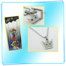 Hot Sale Anime Kingdom Hearts Logo Alloy Pendant Necklace Cosplay Jewelry Gifts