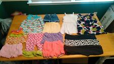 Lot of 2T Toddler Girls Pants, Shorts, Shirts, Dresses 13 Pre-Owned Items