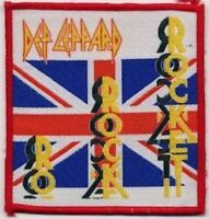DEF LEPPARD ' ROCKET' Vintage Sew on woven patch