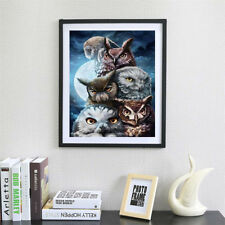 Full Drill 5D DIY Diamond Painting owl Embroidery Cross Stitch Mosaic Home Decor