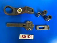 Joblot of Vintage Engineering machine tools, collets tools handle etc. Ref B01D1