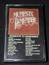Moments to Remember Dominion Cassette