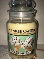 YANKEE CANDLE FUDGE RIPPLE 22 oz Brand new jar