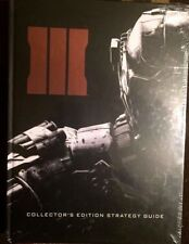 CALL OF DUTY BLACK OPS III 3 COLLECTOR'S EDITION STRATEGY GUIDE FREE SHIPPING