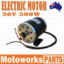 36V 500W MY1020 ELECTRIC MOTOR SCOOTER PUSH BIKE QUAD ATV DIRT BICYCLE 001