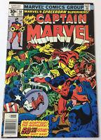 1977 Marvel Comics CAPTAIN MARVEL #50 ~ Super-Adaptoid and Avengers