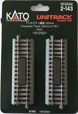 Kato 2-143 HO Unitrack 123mm 4 7/8in Uncoupler 2pcs