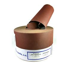 Lija de tela flexible rollo de 10m ancho 120mm grano 220