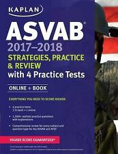 Kaplan Test Prep: ASVAB 2017-2018 Strategies, Practice, and Review with 4...