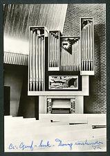 Orgel der Chr. Geref. Kerk te Zwaagwesteinde (klein scheurtje rechts)