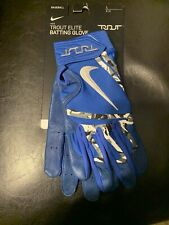 New listing BRAND NEW Nike Trout Blue Elite Adult Baseball Batting Gloves Size Large