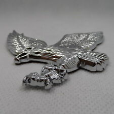 Car  Flying Eagle Metal Silver Motorcycle Auto Chrome Badge Emblem Sticker