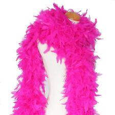 Burlesque Feather Boa Showgirl Dance Fancy Dress Hen Night Accessories Hot Pink
