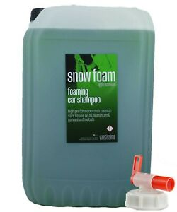 Snow Foam Wash - Apple Scented 25L Litre Car Shampoo with Drum Tap Valetissimo