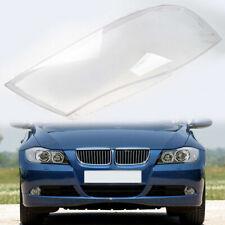 Passenger Side For BMW 2005-2008 E90 Sedan Headlight Lens Cover Glass Front
