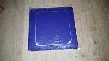Creative Memories 7 x 7 Sapphire Blue Album coverset