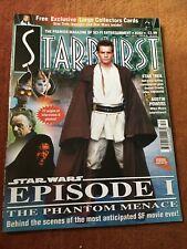 Starburst Magazine Issue 252 - Star Wars Ep 1 The Phantom Menace - 1999 & Cards