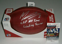 PACKERS Mason Crosby signed NFL Duke football w/ GBP All-Time Scorer JSA AUTO