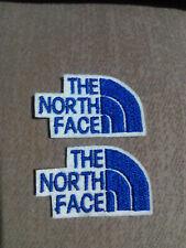 Parche bordado para coser estilo The north face 7//3,5 cm adorno ropa artesania
