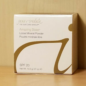 Jane Iredale Amazing Base Loose Mineral Powder SPF20  New In Box 10.5g/.37oz