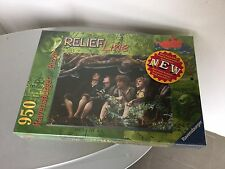 Vintage#Lord of the Rings fellowship RELIEF LINE Ravensburger puzzle# Sealed