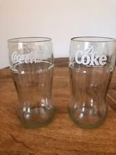 Coca Cola Diet Coke Drinking Glasses Recycled Bottles