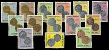 GOA, Portuguese India 1959-Coin Series-14 Different Stamps, MNH, S.G. 688-706