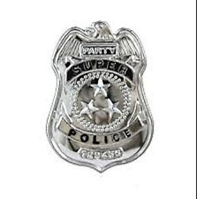 Plastic Police Badge - Costume Accessory