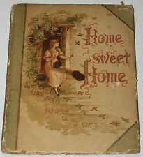 1880 - Home Sweet Home - John Howard Payne - Engraved by Andrew - 1st Ed.??