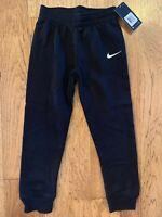 Nike Boys Athletic Sweat Pant 86F088 Black Size 4 5 6 7